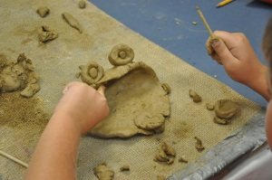 Working with clay is a memorable experience for all kids. This project is great for all ages. This is also an important opportunity to teach kids about building techniques with clay.