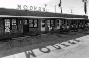 This classic motel was in Reo at the corner of routes 23 and 66. Spencer Couny